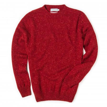 Westley Richards Longhaven Cashmere Sweater - Rage
