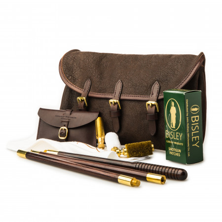Westley Richards Redfern Cleaning Pouch with Accessories in Buffalo