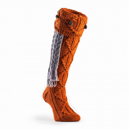 Brigands Shooting Sock in Burnt Orange