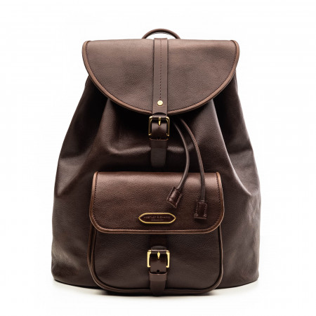 Explora Deluxe Rucksack in Dark Tan