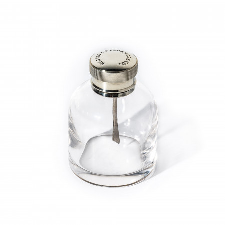 Westley Richards Round Glass Oil Flask