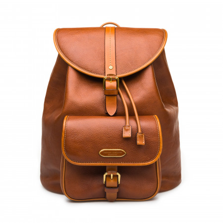Explora Deluxe Rucksack in Mid Tan
