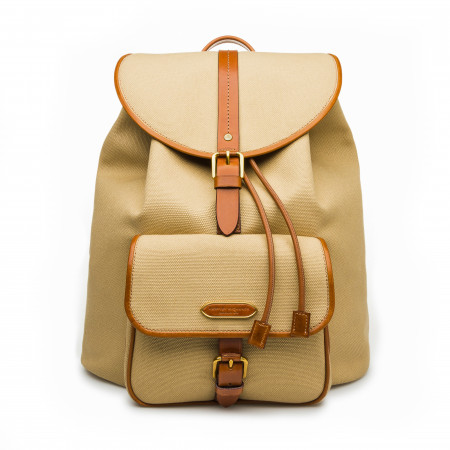 Explora Deluxe Rucksack in Safari & Mid Tan