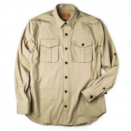 Westley Richards Campaign Shirt in Light Stone