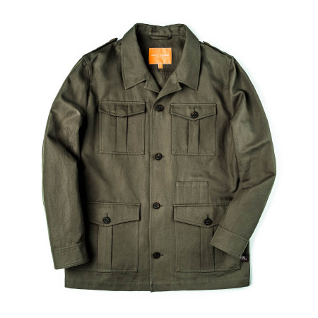 Safari Travel Jacket in Khaki