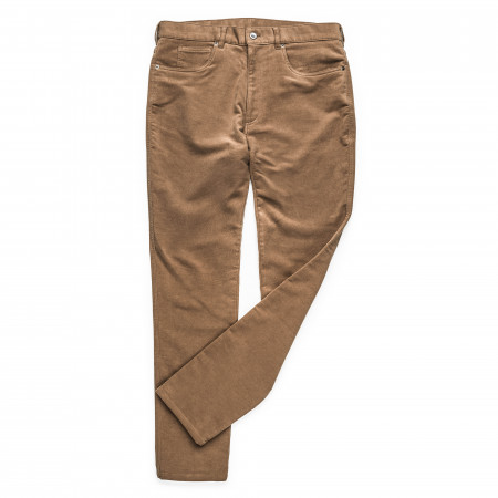 Westley Richards Moleskin Jeans in Fawn