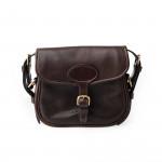 'Perfecta' Cartridge Bag in Dark Tan