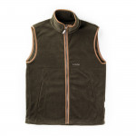Oakham Fleece Gilet in Dark Olive