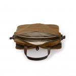 24 Hour Tin Cloth Briefcase - Tan