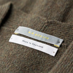 Lauder Lambswool Waistcoat in Bay Leaf