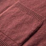 Lauder Lambswool Waistcoat in Grape