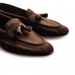 Portland Loafer- Baby Calf Suede