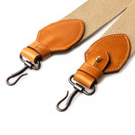 """2"""" Canvas Rifle Sling in Sand & Mid Tan"""