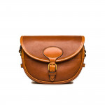 100Rd Anson Cartridge Bag in Mid Tan Patterned