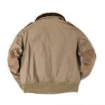 Hide Jacket in Sand Stone