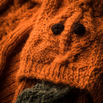 Brigands Shooting Sock in Orange