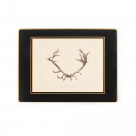 Antler Print Continental Place Mat - Stag