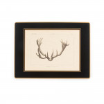 Antler Print Traditional Place Mat - Stag