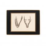 Antler Print Continental Place Mat - Roe Buck