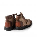 Safari Boot Canvas & Buffalo Hide
