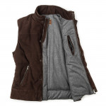 Men's Insulated Suede Gilet
