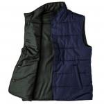 Men's Reversible Wool Gilet