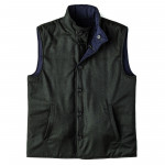 Men's Reversible Wool Gilet