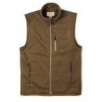 Ridgeway Fleece Vest in Field Olive