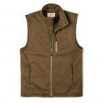 Ridgeway Fleece Vest in Field Olive