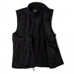 Ridgeway Fleece Vest in Dark Navy