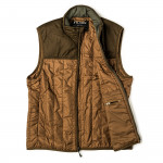 Ultra Light Weight Vest in Dark Tan