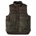 Down Cruiser Vest in Otter Green