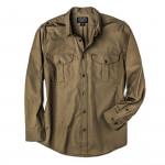 Safari Cloth Shirt in Olive Grey