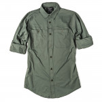 Alagnak Long Sleeve Shirt in Grey Moss