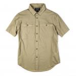 Alagnak Short Sleeve Shirt in Sand Bar