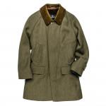 Men's Grampian Coat with Alpaca Lining