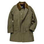 Men's Grampian Coat with Alpaca Lining