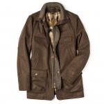 Men's Maximillian Fur Lined Coat