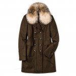 Ladies Viktoria Coat with Fur