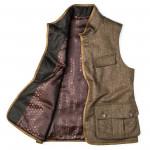 Men's Ambros Herringbone Tweed Waistcoat
