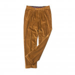 Relaxed Fit Corduroy Trousers in Tan