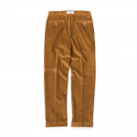 Relaxed Fit Corduroy Trousers - Tan