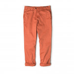 Classic Chino Trousers in Orange