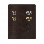 Leather Notebook in Dark Tan