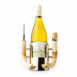 Wine Bottle Rest With Warthog Handles