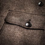 Men's Cashmere Coat with Lambswool Lining