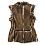 Ladies Grizzly Fur Waistcoat