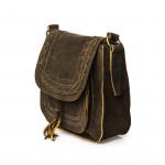 Large Saddle Bag - Dark Tan