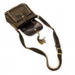 Small Saddle Bag - Dark Tan