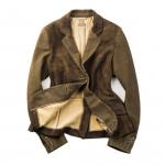 Ladies Leather Yukon Jacket
